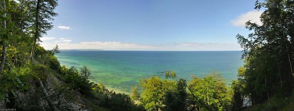 Aussicht vom Steilufer bei Sellin / View from the high shoreline near Sellin