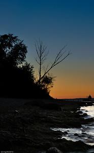 Abendstimmung am Strand von Sellin / Evening at the beach of Sellin