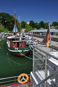 Im Hafen von Sassnitz / In the port of Sassnitz
