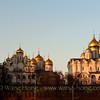The Moscow Kremlin.莫斯科克里姆林宫。