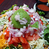 "One of our favorites, ""Taste Bud Tickling Tostada."""