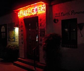 Rutabegorz Restaurant, Fullerton, CA