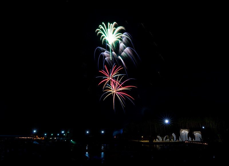 Happy Independence Day!  Captured these shots at the U.S. National Whitewater Center last night.   ..............................................