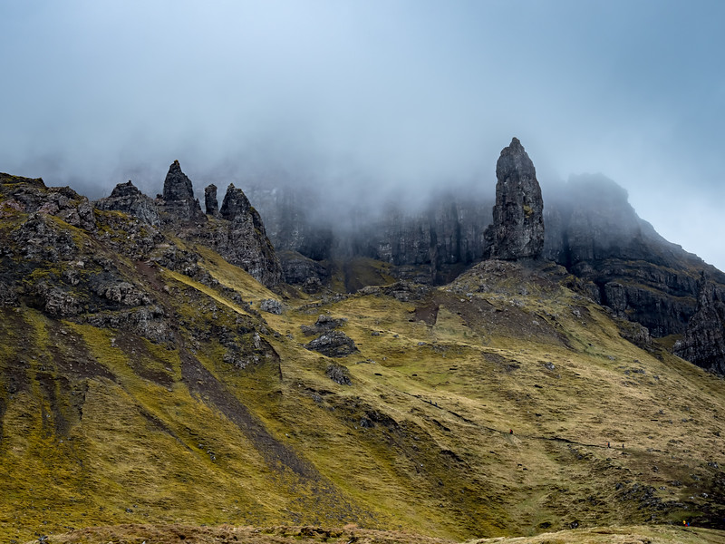 Old Man Storr, Trotternish Peninsula on the Isle of Skye