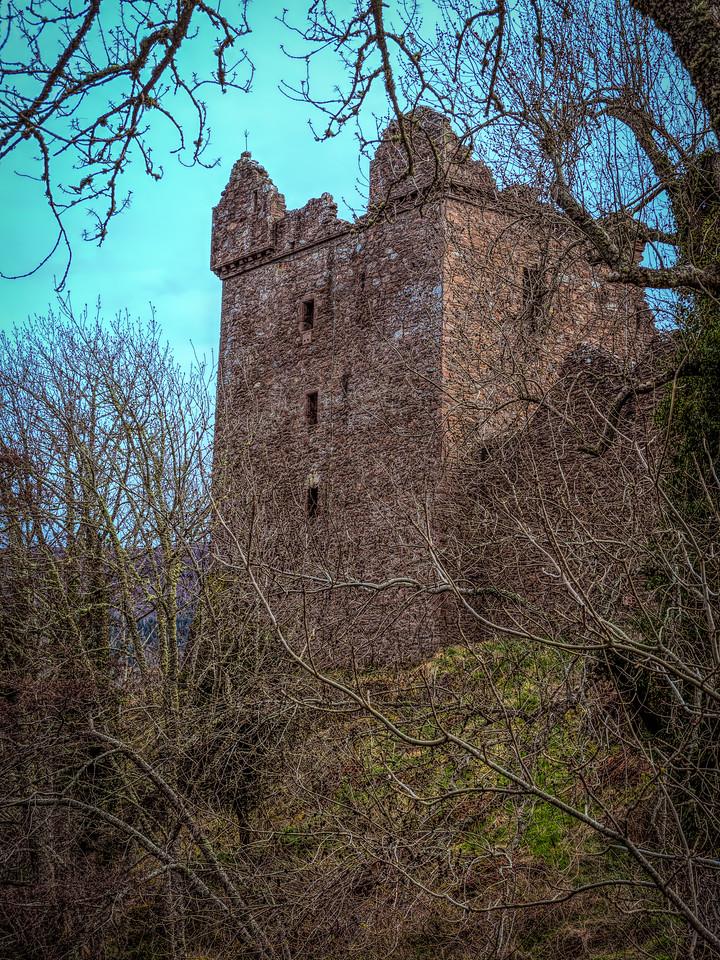 Urquhart Castle, along Loch Ness