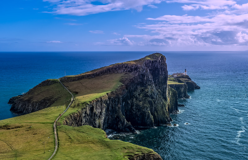 Neist Point & LIghthouse, Isle of Skye