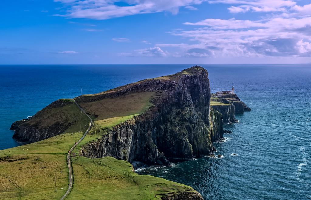 Neist Point & LIghthouse, Isle of Skye