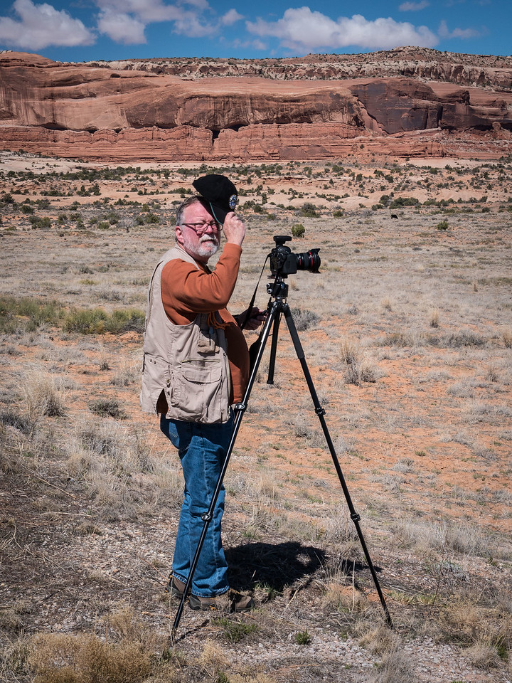 Cal Ruffin in Canyonlands National Park