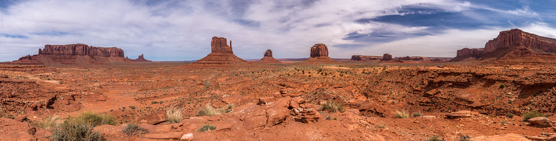 Monument Valley, panorama