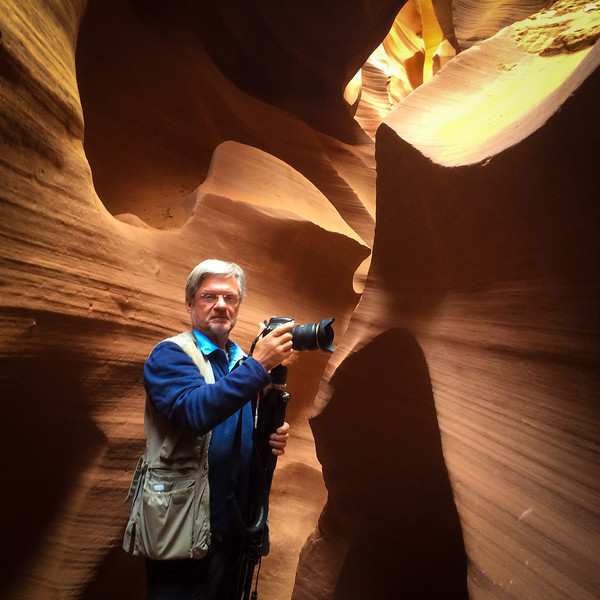 Me in Lower Antelope Canyon