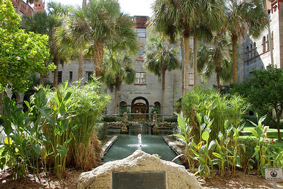 The Lightner Musuem Garden, St. Augustine, FL. © Nora Kramer. All rights reserved.