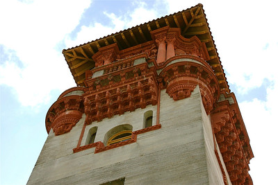 Architectural Detail of the Lightner Museum, St. Augustine, FL. © Nora Kramer. All rights reserved.