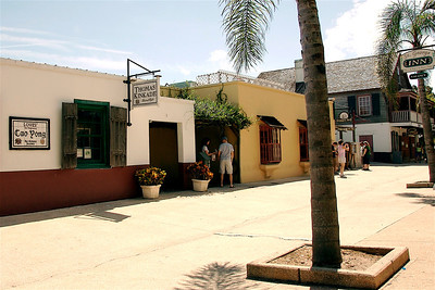 Shopping District, St. Augustine, FL. © Nora Kramer. All rights reserved.