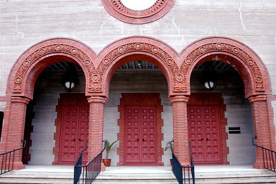 St. Augustine, FL Building Architecture. © Nora Kramer. All rights reserved.