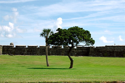 "Castillo de San Marcos (the 'big fort"") in St. Augustine, FL. © Nora Kramer. All rights reserved."