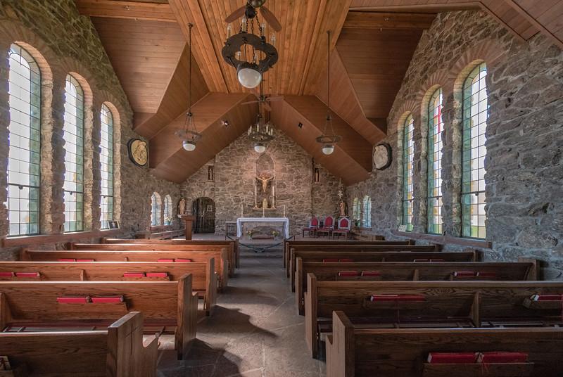 Chapel on the Rock - interior