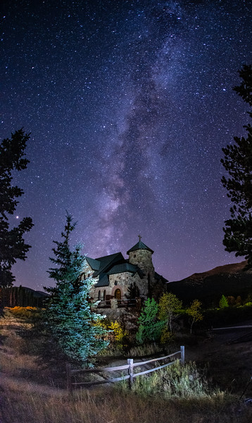 Chapel on the Rock - Milky Way