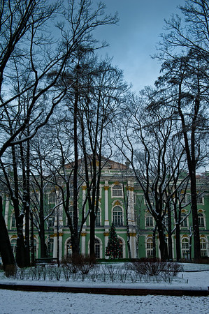 The Hermitage Museum is housed, in part, within the restored Winter Palace, in Saint Petersburg, Russia.  Photo by: Stephen Hindley ©