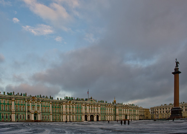The Winter Palace, Saint Petersburg, Russia.  was, from 1732 to 1917 the official residence of Russian monarchs.   Photo by: Stephen Hindley ©