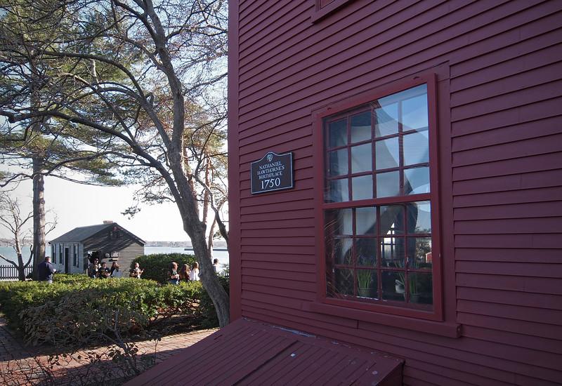 Birthplace of Nathaniel Hawthorne in Salem  - 30 Mar 2011
