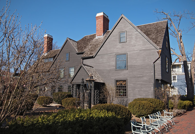 The House of Seven Gables in Salem - 30 Mar 2011