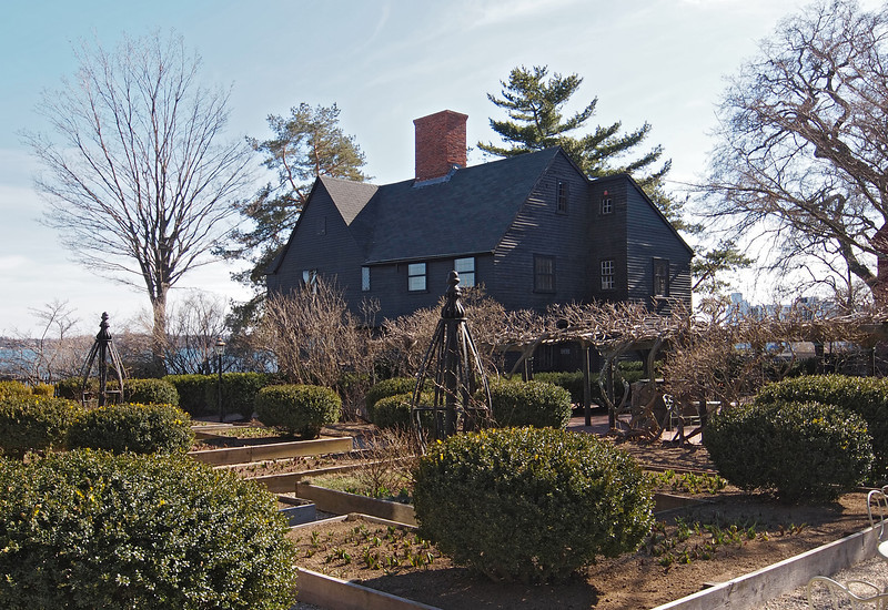 Near the House of Seven Gables in Salem - 30 Mar 2011