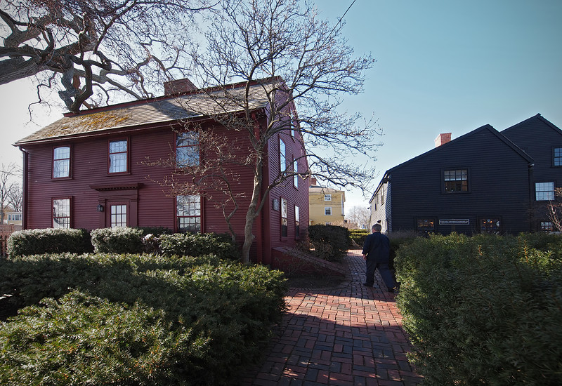 Birthplace of Nathaniel Hawthorne in Salem  - 30 Mar 2011