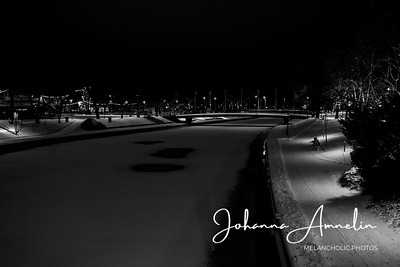 Salo Joulu valot hautausmaa kaupunki joki 005