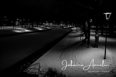 Salo Joulu valot hautausmaa kaupunki joki 008