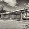Abondoned service station in Borrego Springs, CA