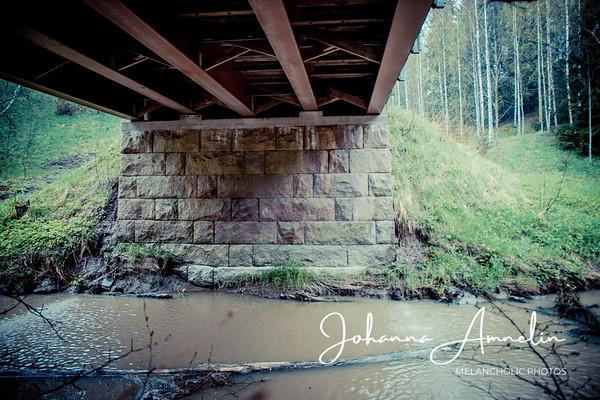 Sampaan silta ja Kuusjoki