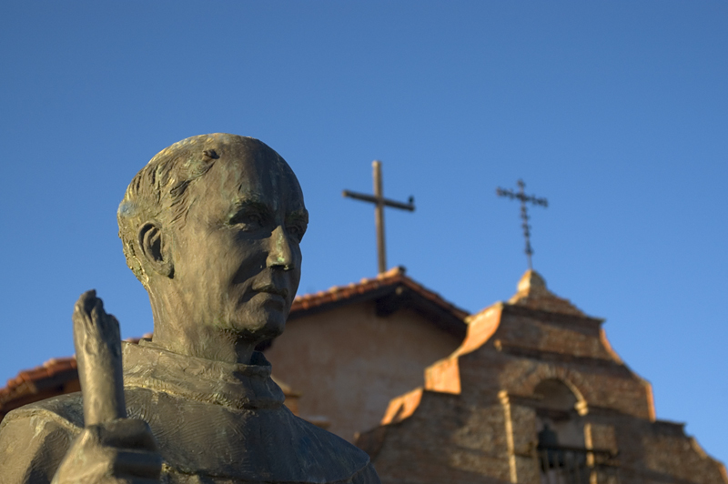 Father Junipero Serra, Mission San Antonio de Padua,<br /> Fort Hunter Liggett, Jolon, CA