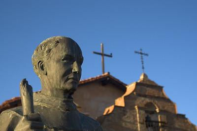 Father Junipero Serra, Mission San Antonio de Padua, Fort Hunter Liggett, Jolon, CA