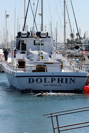 Fishing off Point Loma