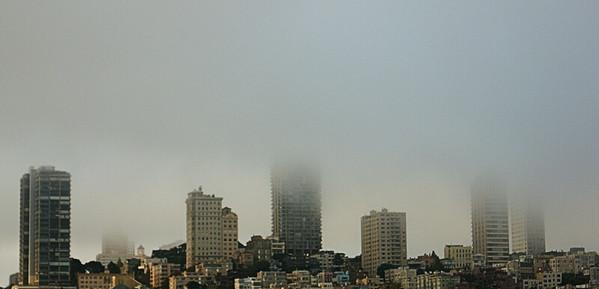 Morning Fog  San Francisco, CA  September 19, 2009