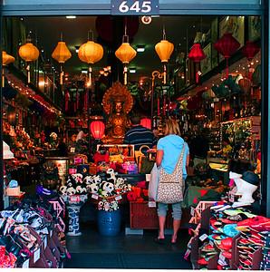 Chinatown Store Eats Woman  San Francisco, CA  September 18, 2009