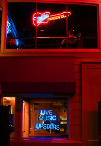 Live music upstairs  San Francisco, CA  September 17, 2009
