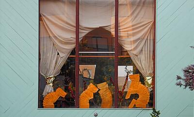 Cutouts in Window  San Francisco, CA  September 19, 2009