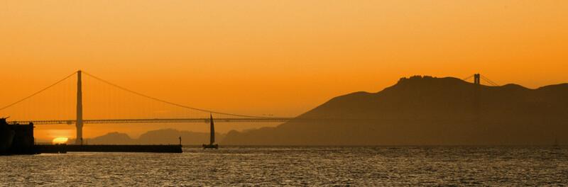 Sunset- San Francisco  San Francisco, CA  September 18, 2009