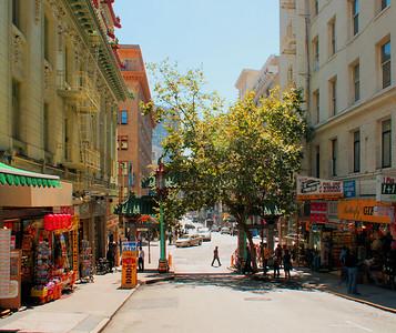 Entrance to Chinatown  San Francisco, CA  September 18, 2009
