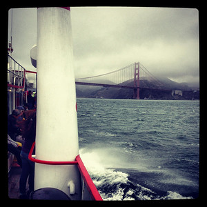 San Francisco from a Boat :))