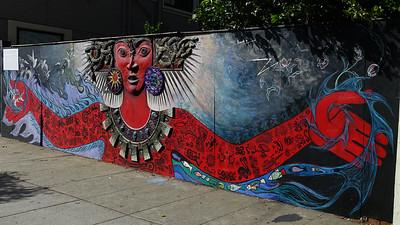 Plastic mural