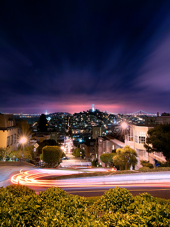Lombard at Night