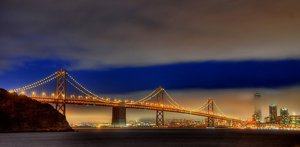 Bay Bridge, Treasure Island, California