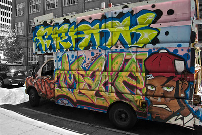 Graffiti Truck, San Francisco