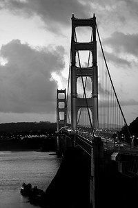 Golden Gate Bridge Black & White