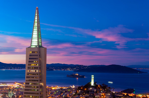 Looming Over Coit Tower