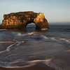 <H3> Keyhole </H3>  An hour drive south of San Jose brings you to lovely Natural Bridges beach in Santa Cruz, CA. The sea stack standing against the crashing waves is quite a sight and well worth the drive.
