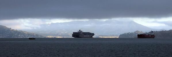 Under the fog - San Francisco Bay