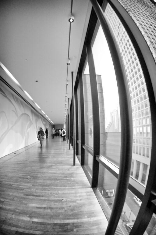 Warped corridor The San Francisco Museum of Modern Art (SFMOMA) ref: 6bb8e192-5660-49e6-81cc-0970acf421f5